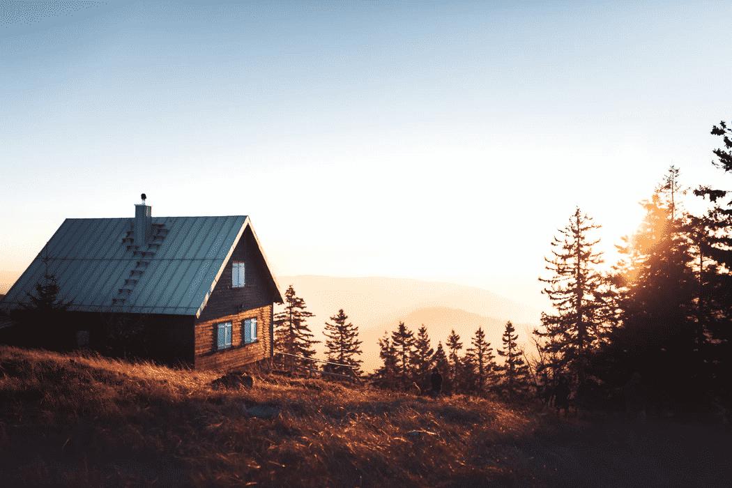 Beautiful cabin style home