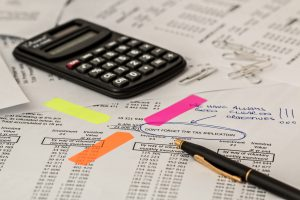 Calculator and paperwork for your hybrid loan