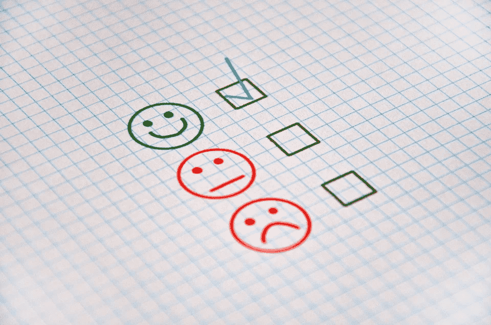 Checklist: Good, neutral, or poor